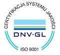 certyfikat DNV